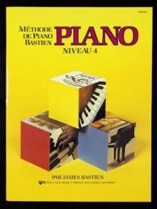 BASTIEN J. METHODE DE PIANO NIVEAU 4