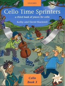 BLACKWELL K. AND D. CELLO TIME SPRINTERS VOL 3