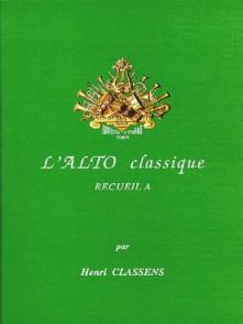 CLASSENS H. L'ALTO CLASSIQUE VOL A