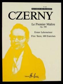 CZERNY K. LE PREMIER MAITRE OP 599 PIANO