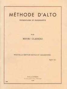 CLASSENS H. METHODE ALTO