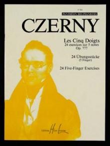 CZERNY K. LES CINQ DOIGTS OP 777 PIANO