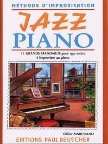 MARCHAND D. METHODE D'IMPROVISATION JAZZ PIANO