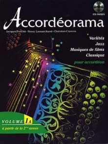 ACCORDEORAMA VOL 1A AVEC CD