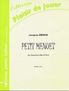 ERDOS J. PETIT MENUET SAXO ALTO