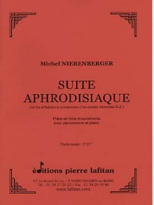 NIERENBERGER M. SUITE APHRODISIAQUE PERCUSSIONS