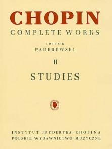 CHOPIN F. ETUDES PIANO