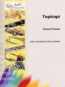 PROUST P. TOPKAPI SAXOPHONE MIB