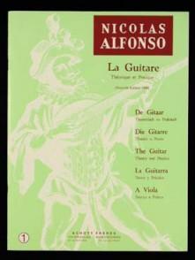 ALFONSO N. METHODE VOL 1 GUITARE