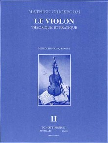 CRICKBOOM M. LE VIOLON VOL II