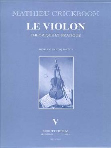 CRICKBOOM M. LE VIOLON VOL V