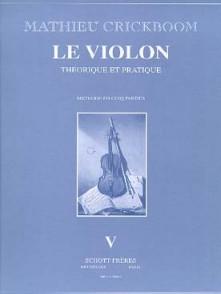 CRICKBOOM M. LE VIOLON VOL V