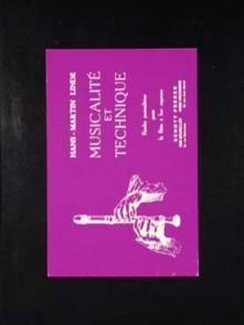 LINDE H.M. MUSICALITE ET TECHNIQUE FLUTE A BEC