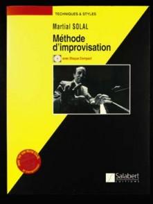 SOLAL M. METHODE IMPROVISATION PIANO