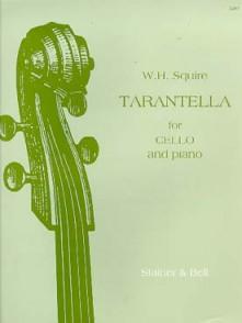 SQUIRE W.H. TARANTELLA OP 23 VIOLONCELLE