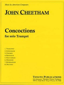 CHEETHAM J. CONCOCTIONS TROMPETTE SOLO