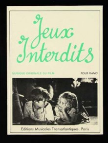 JEUX INTERDITS PIANO