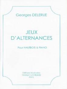 DELERUE G. JEUX D'ALTERNANCES HAUTBOIS
