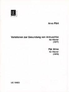 PART A. VARIATION SUR ARINUSCHKA - POUR ALTINA PIANO