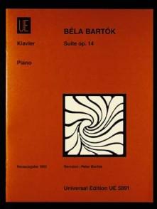 BARTOK B. SUITE OP 14 PIANO