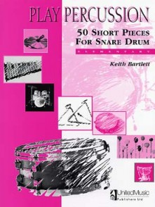 BARTLETT K. 50 SHORT PIECES SNARE DRUM