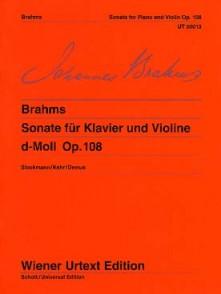 BRAHMS J. SONATE OPUS 120 N°1 ALTO OU CLARINETTE