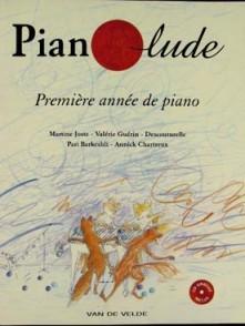 PIANOLUDE VOL 1 AVEC CD