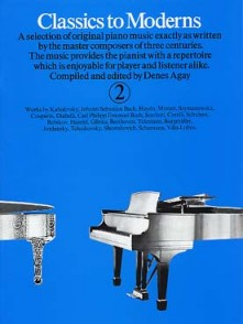 CLASSICS TO MODERNS VOL 2 PIANO