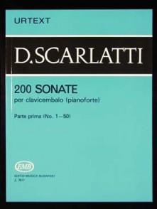 SCARLATTI D. 200 SONATES VOL 1 PIANO