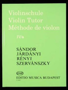 SANDOR METHODE DE VIOLON VOL 4A