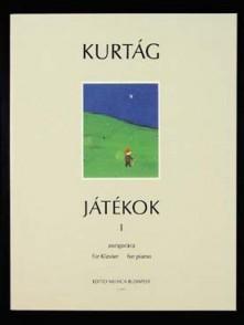 KURTAG G. JATEKOK VOL 1 PIANO