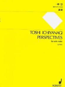 ICHIYANAGI T. PERSPECTIVES VIOLON SOLO