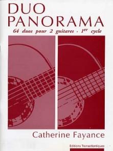FAYANCE C. DUO PANORAMA 2 GUITARES