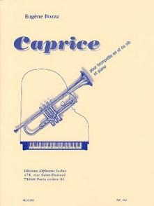 BOZZA E. CAPRICE OPUS 47 TROMPETTE PIANO