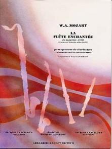 MOZART W.A. FLUTE ENCHANTEE KV 620 CLARINETTES