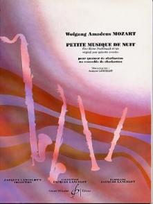 MOZART W.A. PETITE MUSIQUE DE NUIT KV 525 CLARINETTES