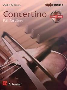 JARDANYI P. CONCERTINO VIOLON