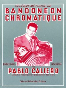 CALIERO P. CELEBRE METHODE BANDONEON CHROMATIQUE
