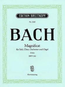 BACH J.S. MAGNIFICAT D-DUR BWV 243 CHANT PIANO