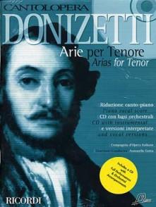 DONIZETTI G . ARIE PER TENORE CHANT