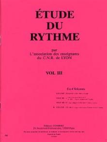 CNR DE LYON ETUDE DU RYTHME VOL 3