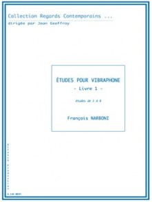 NARBONI F. ETUDES VOL 1 VIBRAPHONE