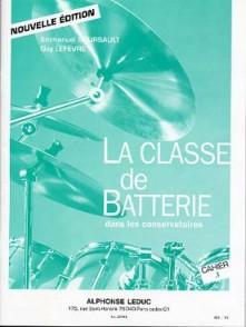 BOURSAULT E./LEFEVRE G. LA CLASSE DE BATTERIE CAHIER 3