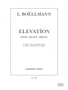 BOELLMANN L. ELEVATION ORGUE