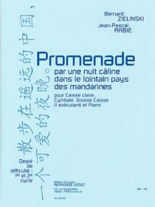 ZIELINSKI B./RABIE J.P. PROMENADE PAR UNE NUIT CALINE PERCUSSION