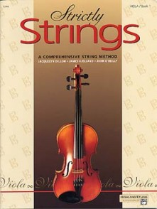 DILLON J. STRICTLY STRINGS VOL 1 ALTO