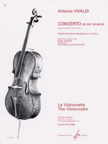 VIVALDI A. CONCERTO MIB VIOLONCELLE