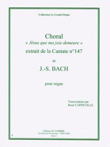 BACH J.S. CANTATE 147 ORGUE