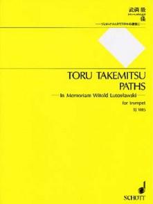 TAKEMITSU T. PATHS TROMPETTE SOLO