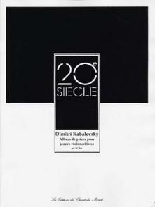 KABALEVSKI D. ALBUM DE PIECES VIOLONCELLE